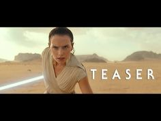 Skywalker >>> The final installment of the Star Wars sequel trilogy finally has a name. Lucasfilm announced that Episode IX will be called Star Wars: The Rise of Skywalker, debuted alongside the first trailer. Star Wars Film, Ver Star Wars, Star Wars Watch, Mark Hamill, Carrie Fisher, Anakin Skywalker, Adam Driver, Star Citizen, Reylo