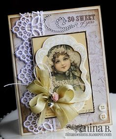 A Project by NinaB from our Stamping Cardmaking Galleries originally submitted 12/02/11 at 06:31 AM