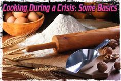 Cooking During a Crisis: Some Basics