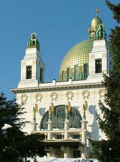 Otto Wagner Kirche am Steinhof - Vienna, Austria