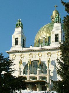 Kirche am Steinhof, Wien.