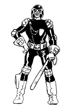 Why the 2012 Dredd Costume was so spot on, early Ezquerra Judge Dredd Comic Book Characters, Comic Books, Fictional Characters, 2000ad Comic, Art Spiegelman, Judge Dredd, Dark Star, Character Modeling, Geek Out