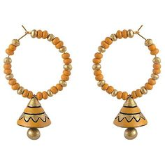 Shop now the latest jewellery on ladyindia.com Terracotta Earrings Yellow Terracotta Designer Earrings Bali Jhumkas Terracotta Jewellery Online Shopping https://ladyindia.com/collections/terracotta-jewellery/products/terracotta-earrings-yellow-terracotta-designer-earrings-bali-jhumkas-terracotta-jewellery-online-shopping #terracottajewellerydesigns #terracottadesigns