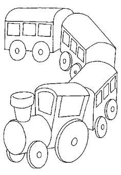vonat rajzok - Google-keresés Painting Templates, Wooden Toys, Transportation, Stencils, Trains, Motorcycles, Google, Art, Drawings