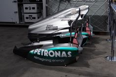 Merc side pods