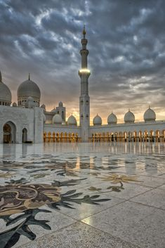 Architecture Discover Photograph Stormy Sunset Skies over the Mosque by julian john on Mecca Wallpaper Islamic Wallpaper Beautiful Mosques Beautiful Places Black Photography Landscape Photography Islamic City Mecca Kaaba Travel Around The World Architecture Antique, Mosque Architecture, Ancient Greek Architecture, Architecture Wallpaper, Architecture Sketches, Chinese Architecture, Architecture Design, Beautiful Mosques, Beautiful Buildings
