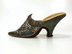 A woman's shoe, 1720/1730, Museum Weißenfels - Schloss Neu-Augustusburg
