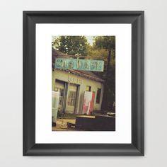 A Piece of America Framed Art Print by Amy J Smith Photography - $37.00