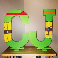 Custom Hand Painted Lion King Theme Name Letters Made By
