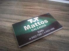Cartão de Visita para desenvolvido para Mattos Calçados Pouso Alegre =)