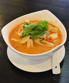 Tom Yum Goong (Thaise soep met garnalen)