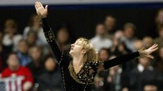Surprisingly, Plushenko last competed in the World Championships 10 years ago, in 2004. Unsurprisingly, he won - his third title in four years.