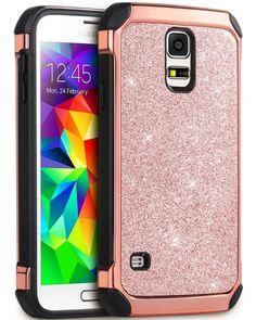 Galaxy S5 Case, BENTOBEN Glitter Bling Luxury 2 in 1 Super Fast Shipping USA New #BENTOBEN