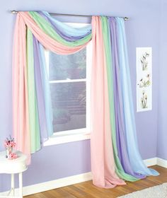 Sheer Window Scarves