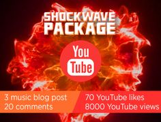 Youtube music video promotion.Get Your Music Video on 3 popular music blogs. bring real Youtube views connect your music to ALL major social media platforms