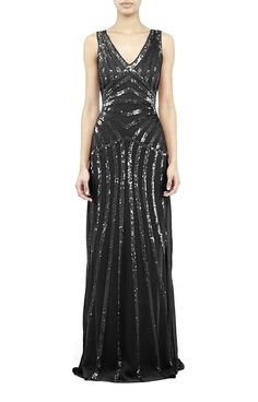 Maze Sequin Gown - Collection