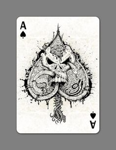 CREEPY playing cards deck by Xtu Productions — Kickstarter