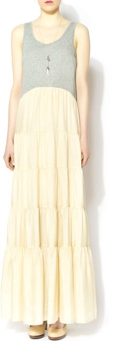 4 Love And Liberty Tiered Maxi Dress