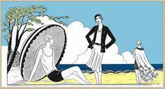 Les Créations Parisiennes.  La mode est un art. France 1929.