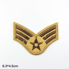 New to craftapplique on Etsy: army patch badge master sergeant rank patch insignia badge Air Force patches Military Embroidery badges iron on patch sew on patch USD) Air Force Patches, Army Patches, Cool Patches, Sew On Patches, Iron On Patches, Jacket Patches, Wholesale Promotional Products, Master Sergeant, Letters And Numbers