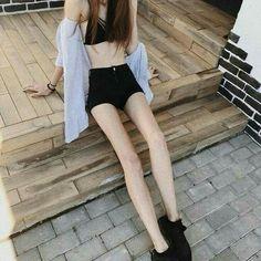 Sie hat so perfekte Beine