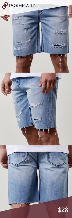 Cayler and Sons Cutoff Jean Shorts Denim Hi Poshers!!! Check out these Cayler and Sons All Day Denim White cutoff jean shorts new w tags. Heavy weight denim. Amazing quality from the finest in German Streetwear. Cayler and Sons Shorts Jean Shorts