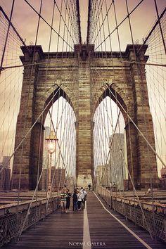 Walk the Brooklyn Bridge, New York City