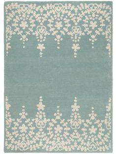 Wollteppich Matrix Guild Blau 120x170 cm
