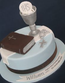 Blissfully Sweet: First Holy Communion Cake