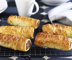 Boasting reduced fat ingredients and carrot, these puff pastry sausage rolls are a delicious way for the kids to increase their vegetable intake.