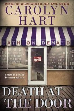 Death at the Door (Death on Demand, #24) by Carolyn Hart.  Forthcoming print fiction.