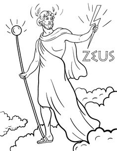 1000 Images About Heracles On Pinterest Hercules Zeus Coloring Page