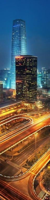 Beautiful Beijing at Night