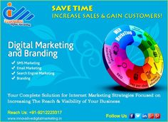 Save Time. Increase Sales & Gain Customers!  Digital Marketing!  Your Complete Solution for Internet Marketing Strategies Focused on Increasing The Reach & Visibility of Your Business.  Innovative Digital Marketing, reputed digital marketing agency in india, is working on this strategy for long time, welcomes you to talk about your online marketing needs.  Call at +91-9212223317 to make any inquiry with our expert.  Visit https://www.innovativedigitalmarketing.in/ to find more about us...