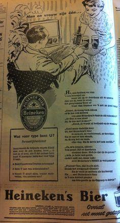 Dutch Heineken ad 1956