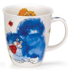 furballs blue mug