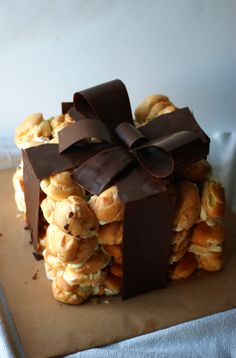 A Present of Profiteroles, this looks like so much fun to try.