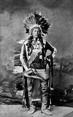 Ute Chief Black Tailed Deer - Pe-ah 1874