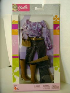 Fashion Avenue Glitter Pants and Top with Boots NIP | eBay