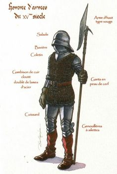 English man at arms