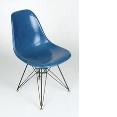 Charles et Ray EAMES, chaise plastic side chair DSR