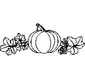 Üvegfestés sablon  : Tök/Konyha, Növény, Ősz