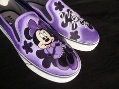 Custom Hand Painted Shoes Minnie Mouse by RyTee on Etsy