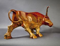 John Maisano, artist and sculptor in bronze, is known for his sculptures of prehistoric and modern animals, both realistic and stylized. Animal Sculptures, Lion Sculpture, Fox Mask, Blown Glass Art, Bronze, Prehistoric, Cattle, Metal, Moose Art