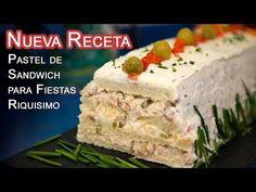Drip Cakes, Canapes, Desert Recipes, Vanilla Cake, Mexican Food Recipes, Sandwiches, Allrecipes, Deserts, Brunch