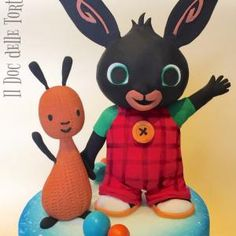 Bing Cake, Bing Bunny, Cake Decorating With Fondant, Tweety, Minnie Mouse, Baby Shower, Posts, Fimo, Babyshower
