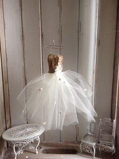 Glamour SALE Miniature DRESS ASSEMBLAGE Art by ThatVintageChic
