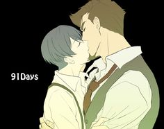 91 days  | Tumblr 91 Days, Shounen Ai, Gays, My Hero Academia, Anime, Manhwa, Fandoms, Fan Art, Animation