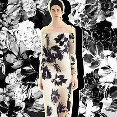 The @marcjacobs Resort16 showed a great minimal monotone based collection. So inspiring! #longinaphillipsdesigns #textiledesign #inspiration #printspiration #resort16 #marcjacobs #blackandwhite