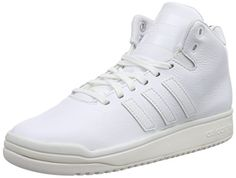 huge selection of d92e5 3cd11 Scarpe da Basket - adidas Originals Veritas Lea - Unisex - Adulto - Bianco  - misura 48 2 3